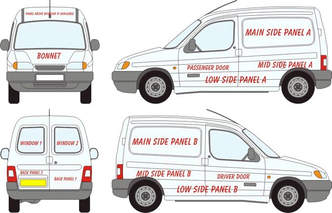 citroen berlingo signwriting template - Google Search | Cars ...