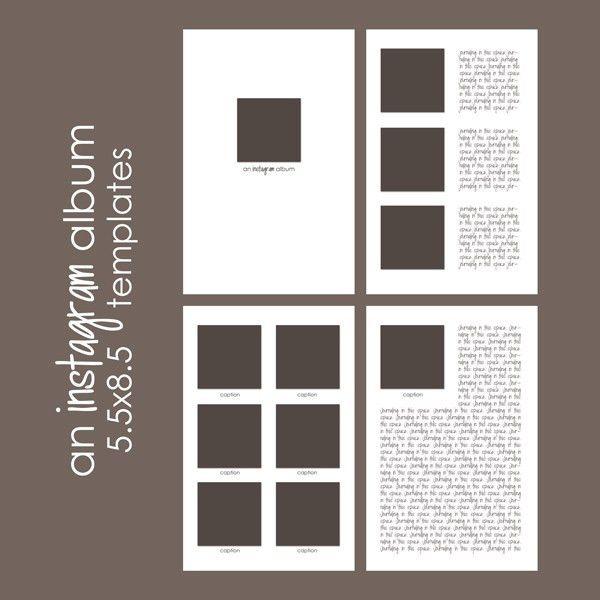 Free Download: Instagram Album - Simple Scrapper