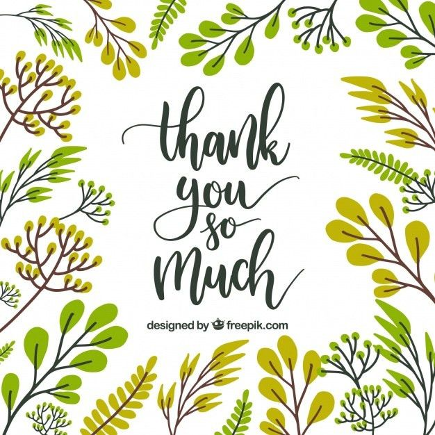 Thank You Card Vectors, Photos and PSD files | Free Download