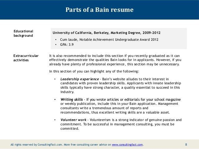 examples of extracurricular activities for resumes