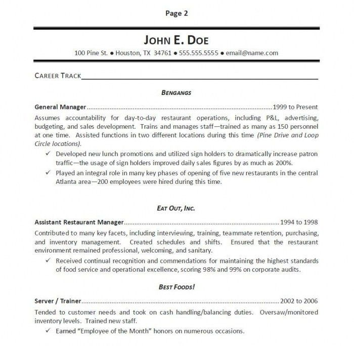 accomplishments in resumes