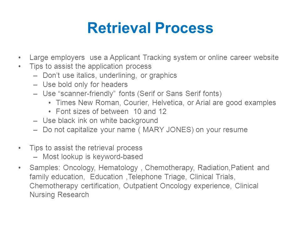 Resume Writing Workshop Creating A Winning Resume Ppt Video   Courier Resume