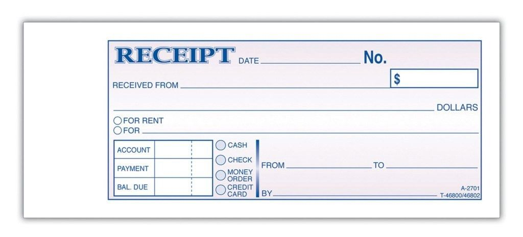 Rent Payment Receipt Form Template Sample : Helloalive