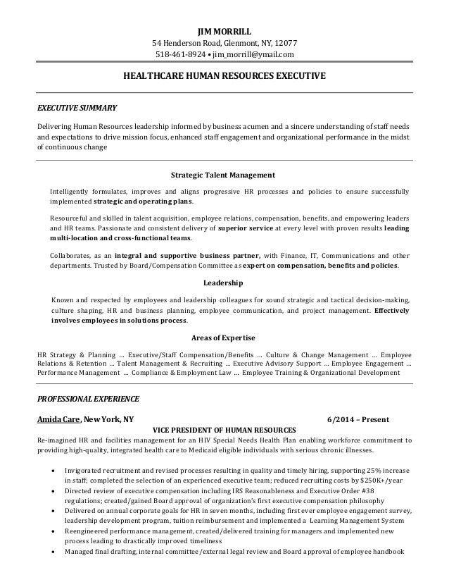 J. Morrill Resume HC