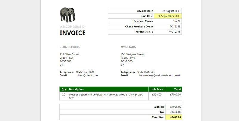 5 Easy, Free Ways To Generate Invoices For Your Clients