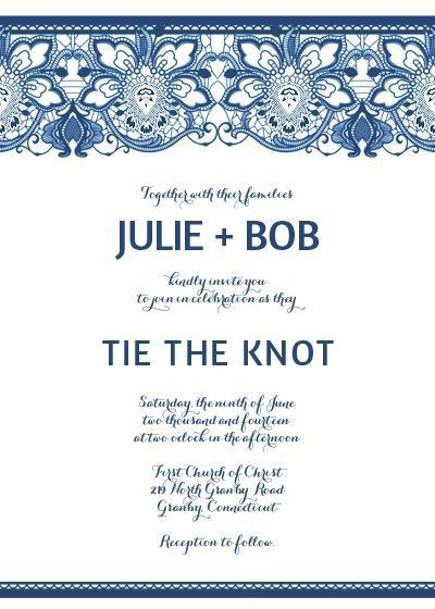 Wedding Invitation Template - Kawaiitheo.Com