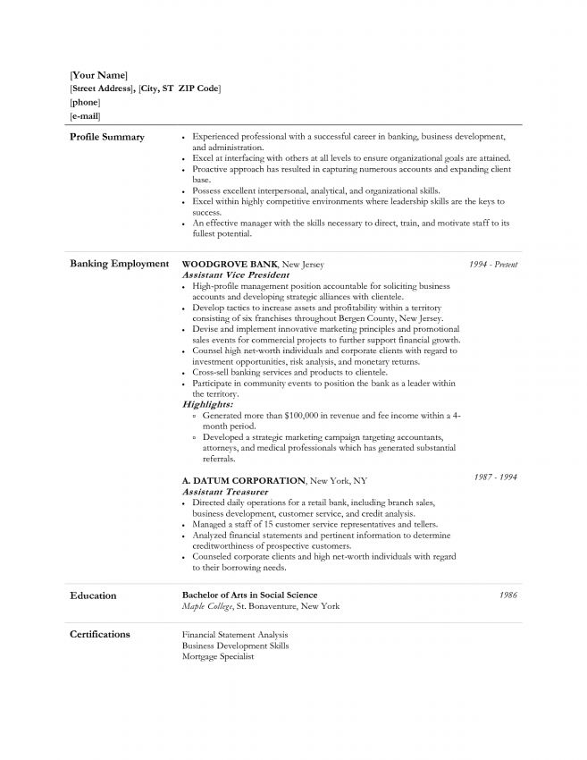 is an objective statement necessary on a resumes