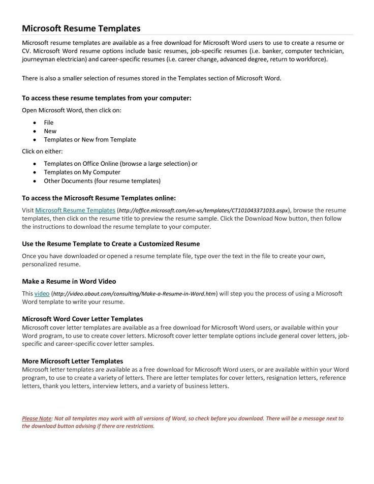 best 25 free online resume builder ideas on pinterest online - Free Online Resume Template Microsoft Word