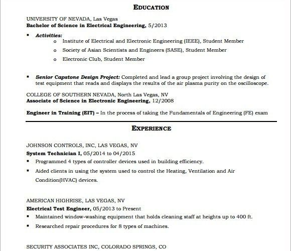 technician resume templates for aircraft mechanic 12751650 ...
