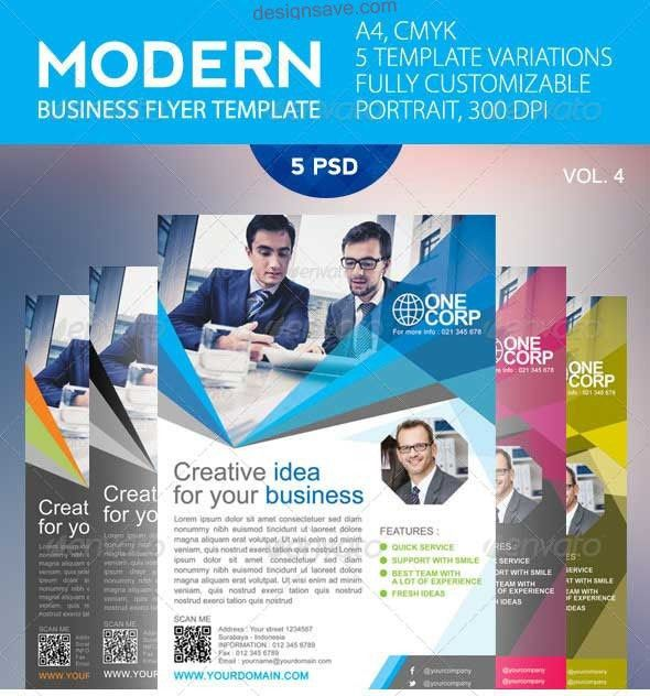 Modern-Business-Flyer-Template.jpg (590×632) | Designs | Pinterest