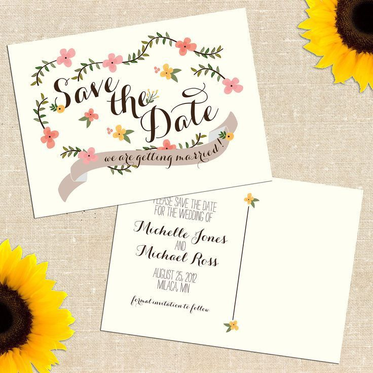 115 best SAVE THE DATE IDEAS images on Pinterest | Marriage ...