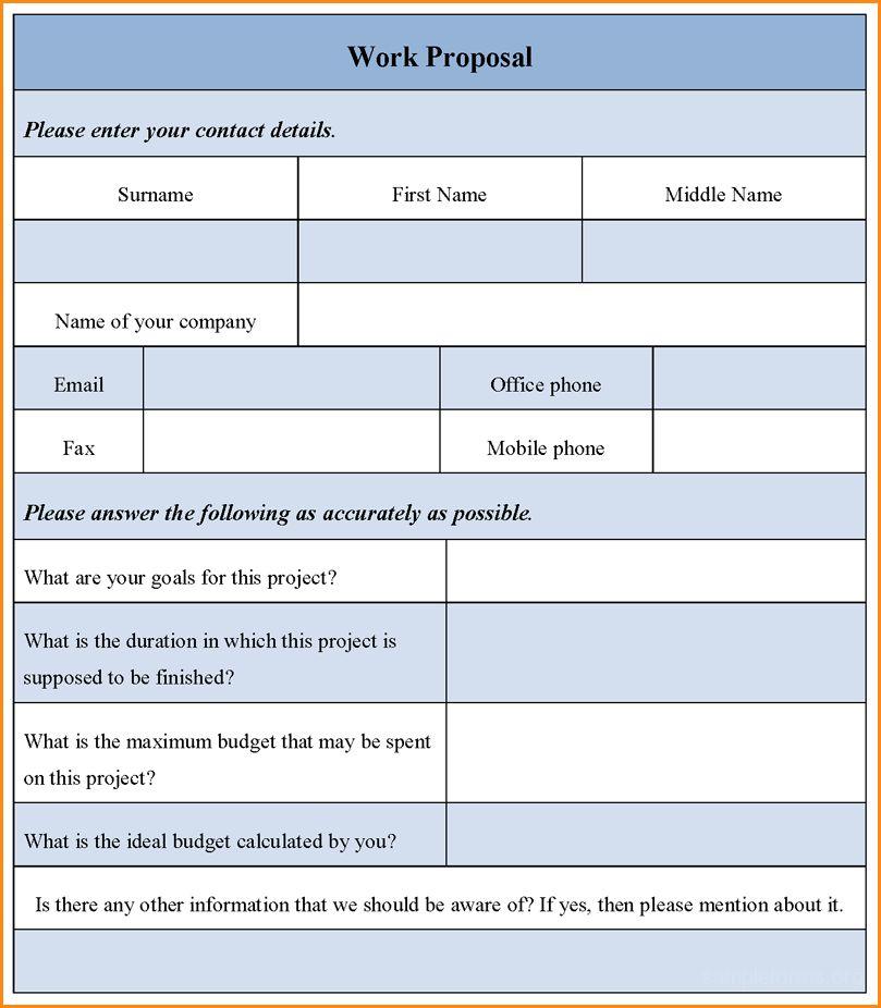 Work Proposal Template.Sample Job Proposal.png - Loan Application Form
