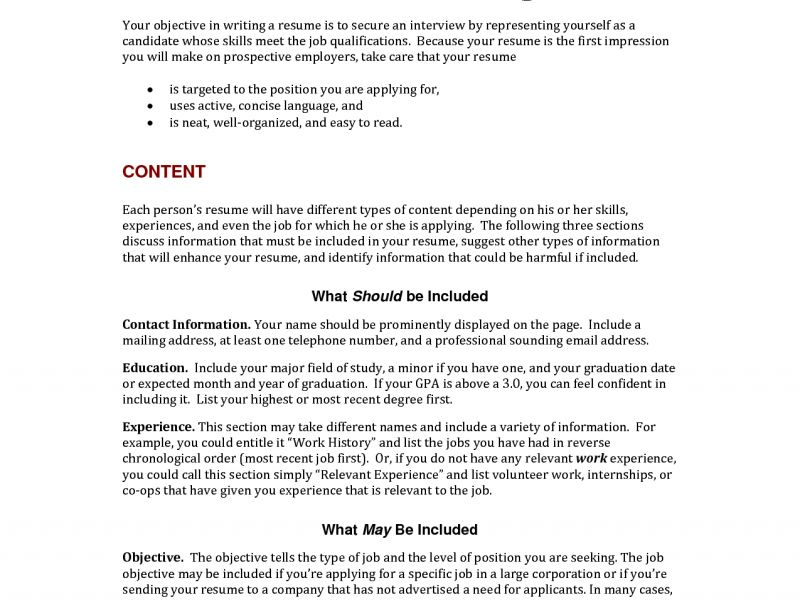Staggering Writing Resume Objective 4 Resume Help Inside Writing ...