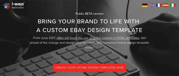eBay's NEW Feature - FREE eBay Listing Template BUILDER!