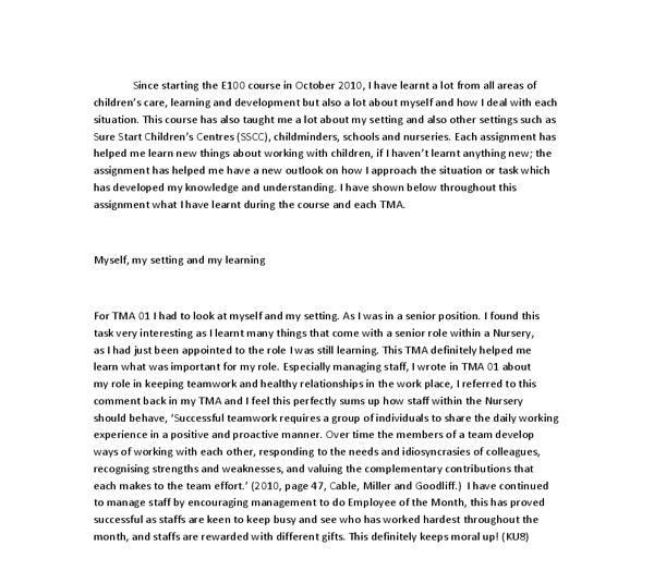 Self esteem essay - Academic essay
