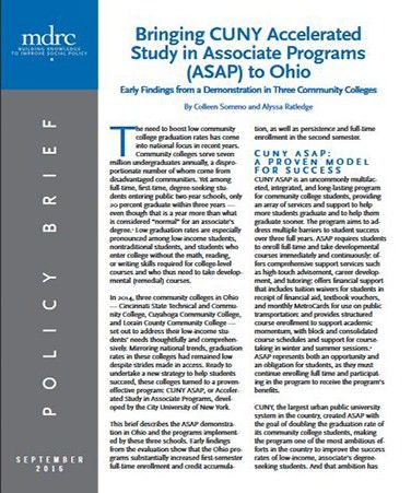Accelerated Study in Associate Programs