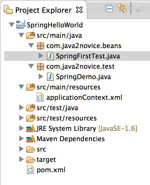 Spring 3 hello world example-Spring framework examples