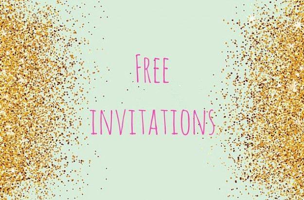 FREE printable children's birthday party invitations - goodtoknow
