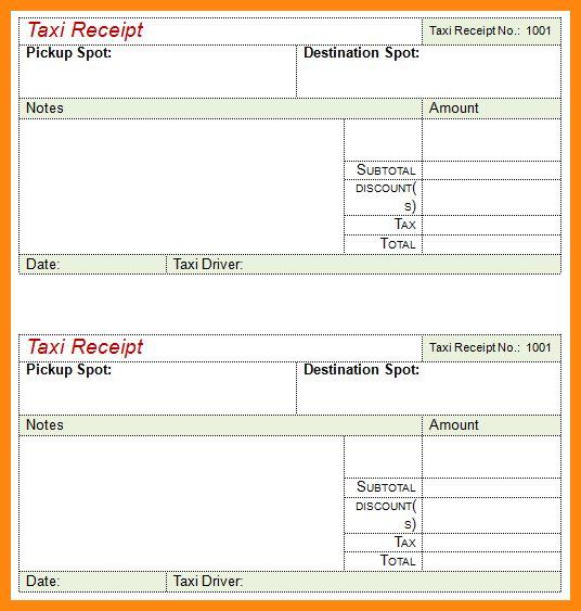 2+ taxi bills format | reporter resume