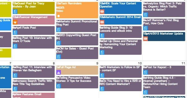 The Ultimate Guide to Using a Content Editorial Calendar