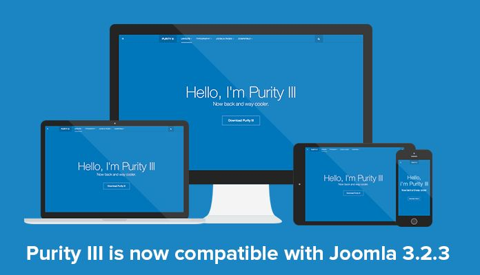 Free Responsive Joomla template - Purity III is now Joomla 3.2.3 ...