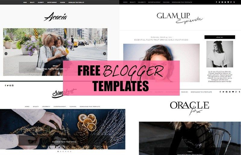 Free Blogger Templates - Beauty Candy Loves