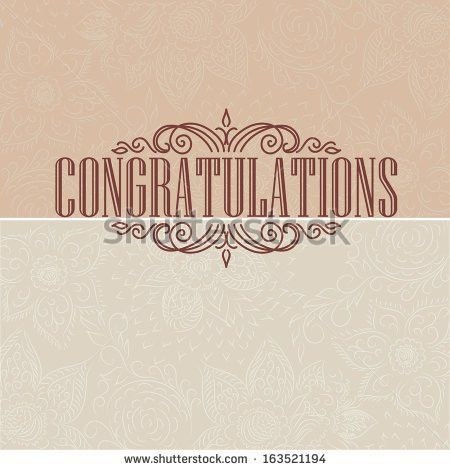 Congratulations Card Stock Images, Royalty-Free Images & Vectors ...