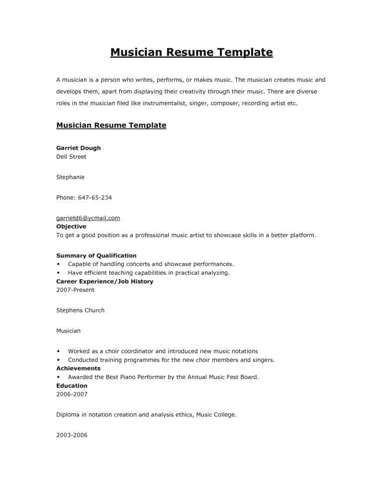 Clever Design Music Resume 16 Music Teacher Resume Sample - Resume ...