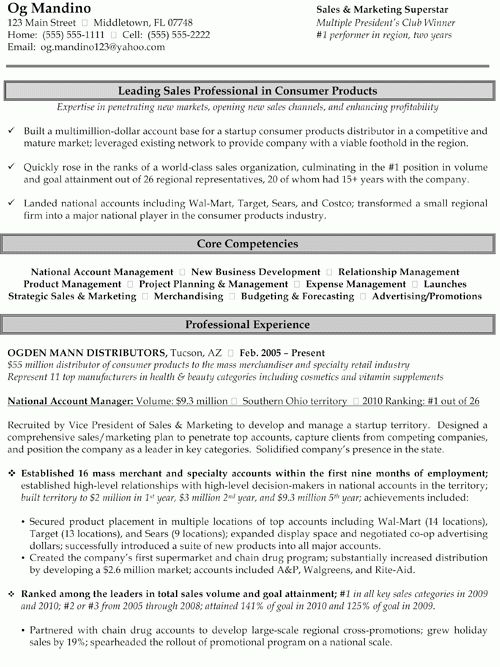 Sample Resumes | Creative Edge Resumes