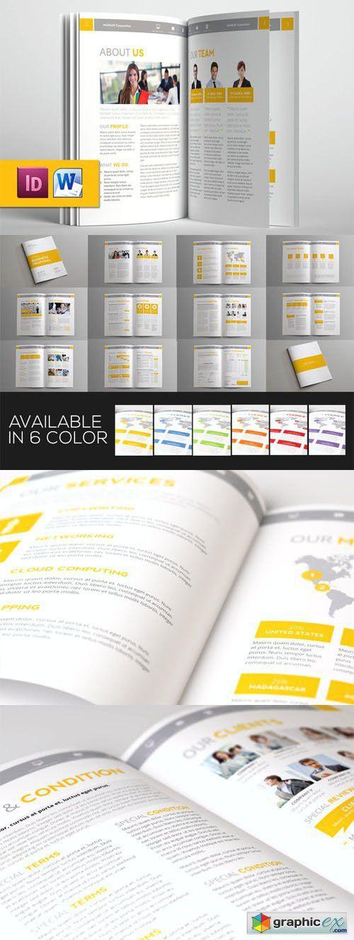 Jogja Simple Proposal Template » Free Download Vector Stock Image ...