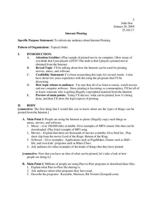 Preparation outline handout_2014 # Public Speaking