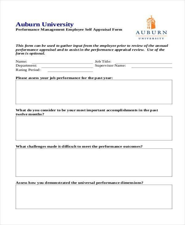 28+ Sample Appraisal Formats - Free Sample, Example, Format ,Download