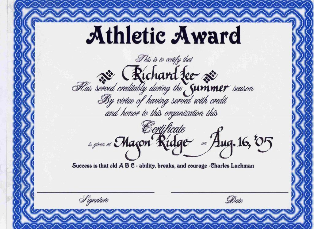 Award Word Template. 13 best certificates images on pinterest ...