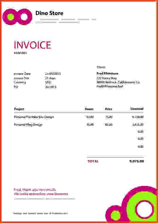 invoice template pdf | Sponsorship letter
