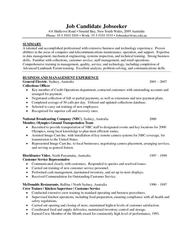 resume objectives for restaurant restaurant manager resume sample