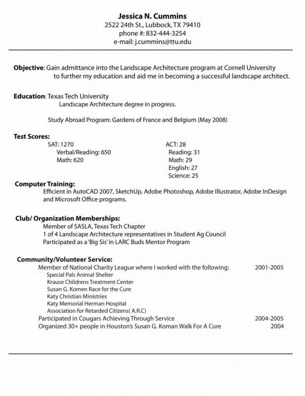 step by step how to write a resumes