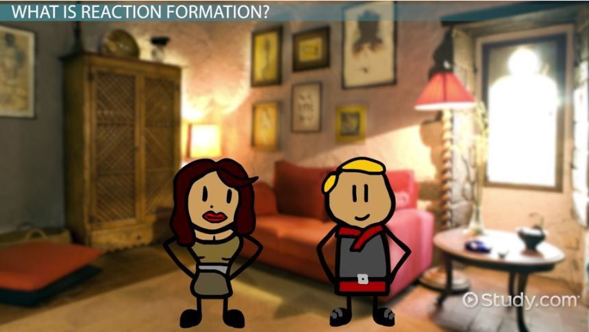Reaction Formation in Psychology: Definition & Example - Video ...
