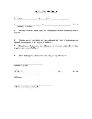 UK Affidavit Forms   Legal Forms and Business Templates   MegaDox.com