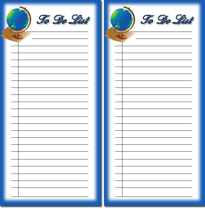 Free Children's to do list printables 1, download free to do list ...