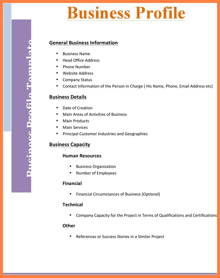 4+ business company profile template | Company Letterhead