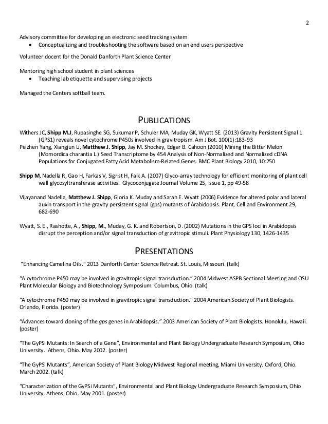 Matthew Resume CV 2014