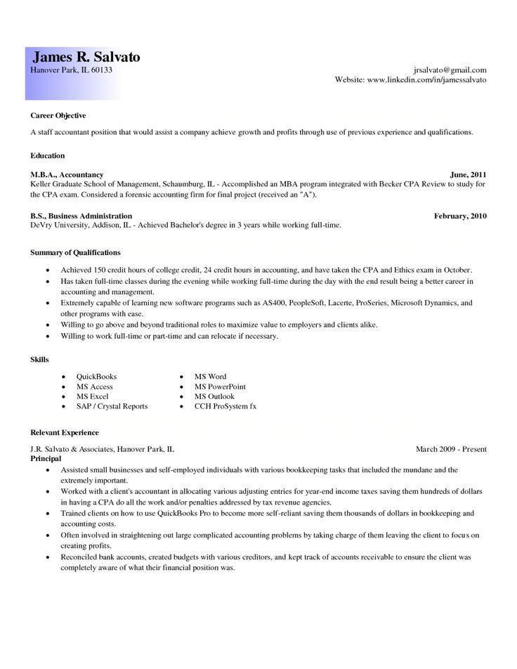 25+ melhores ideias de Exemplos de objetivos de candidatura no ...