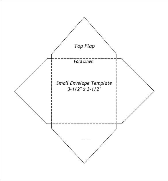 Small Envelope Templates – 9+ Free Printable Word, PDF, PSD Format ...
