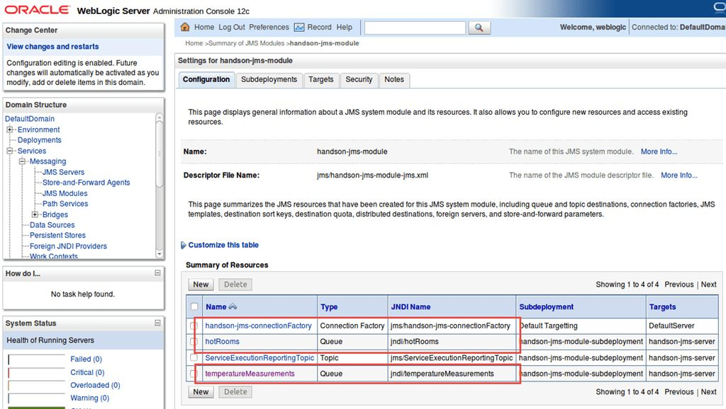 Interacting with JMS Queue and Topic from Java SE - AMIS Oracle ...