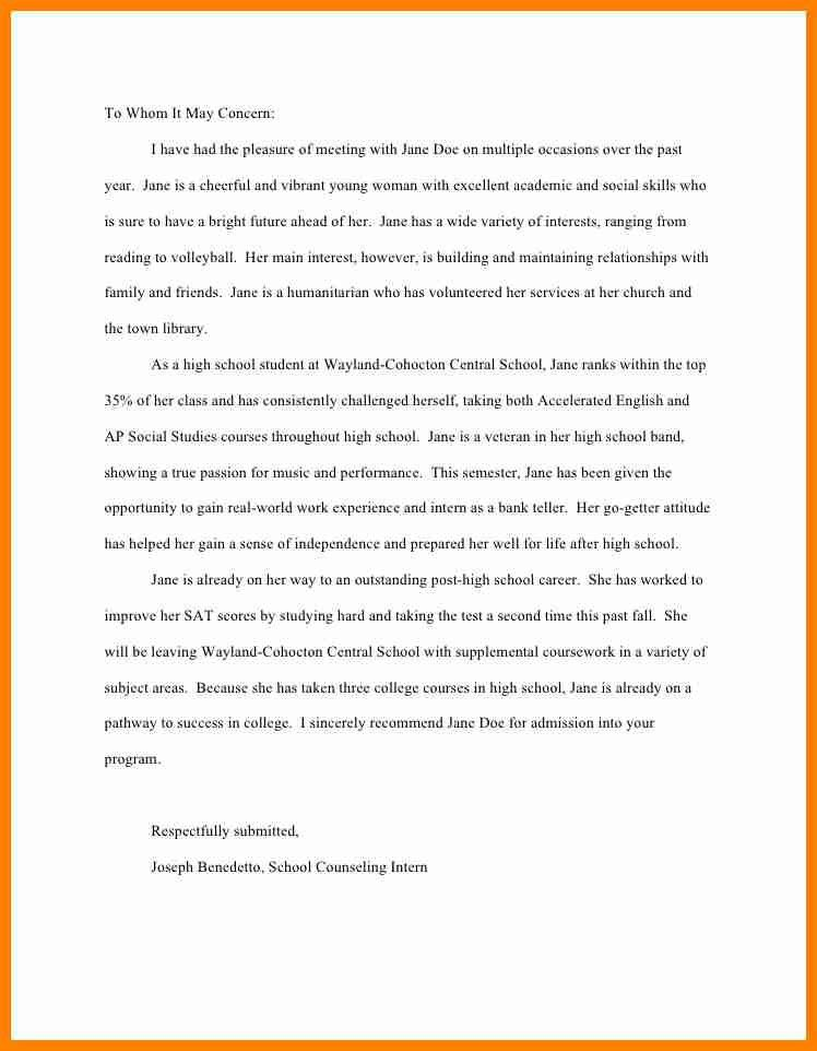 11+ college recommendation letter sample | assembly resume