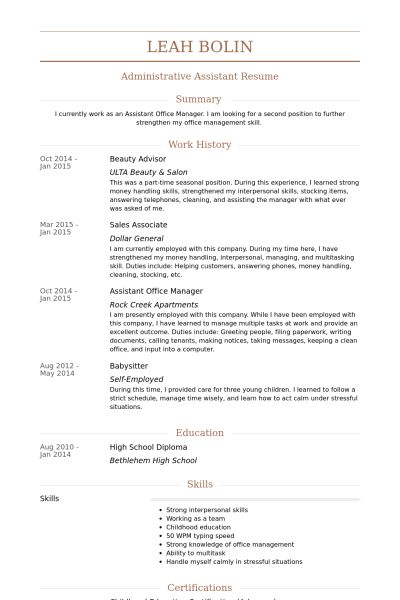 Skin Care Consultant Sample Resume Beauty Consultant Resume Sample - Skin Care Consultant Sample Resume