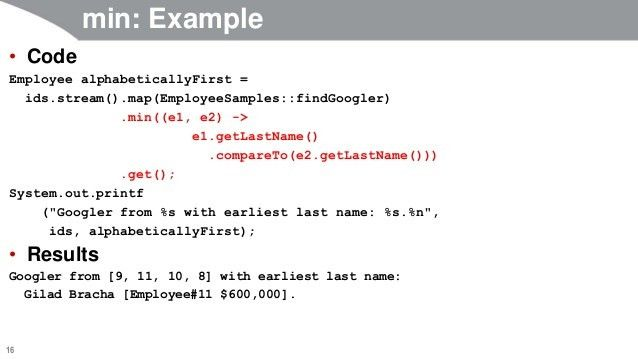 Java 8 Tutorial: Streams Part 2 -- map, reduce, and specialized numbe…