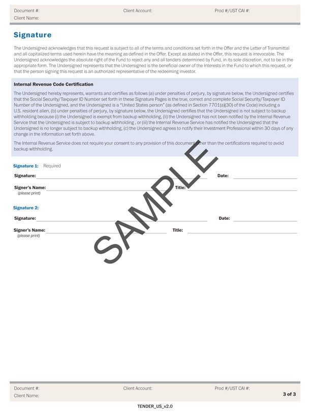 Forms of Letter of Transmittal
