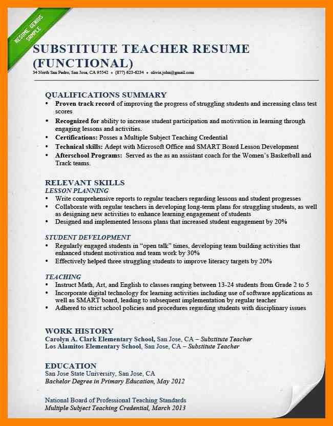 Resume Sample – riobrazil blog