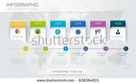 Vector Infographics Design Template 3d Paper Stock Vector ...